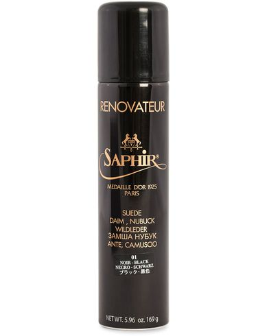 Saphir Medaille d'Or Renovateur Suede 250 ml Spray Black  i gruppen Skor / Skovård / Skovårdsprodukter hos Care of Carl (12308710)