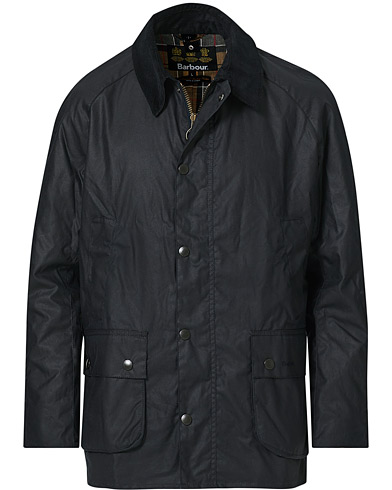 Barbour Lifestyle Ashby Wax Jacket Navy i gruppen Kläder / Jackor / Vaxade jackor hos Care of Carl (12591511r)