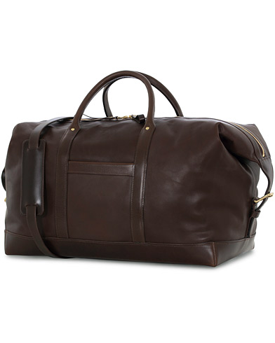 Tärnsjö Garveri TG1873 Weekender Large Dark Brown  i gruppen Accessoarer / Väskor / Weekendbags hos Care of Carl (12665410)