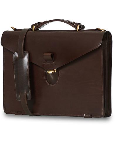 Tärnsjö Garveri TG1873 Briefcase Dark Brown