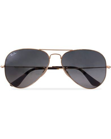 Ray-Ban 0RB3025 Aviator Sunglasses Gold/Grey  i gruppen Accessoarer / Solglasögon / Pilotsolglasögon hos Care of Carl (12668810)