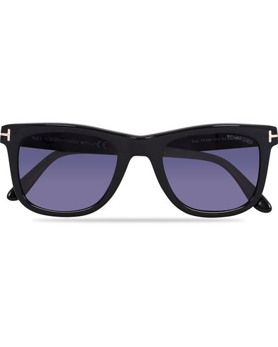 Tom Ford FT0336 Leo Sunglasses Black  i gruppen Accessoarer / Solglasögon / D-formade solglasögon hos Care of Carl (12672010)