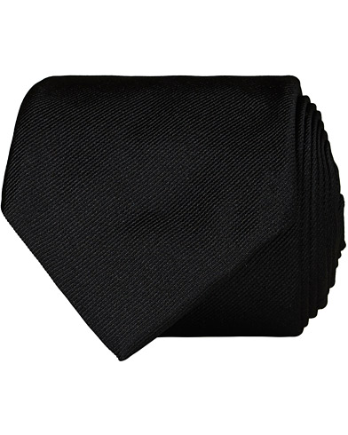 BOSS Tie 7,5 cm Silk Tie Black  i gruppen Accessoarer / Slipsar hos Care of Carl (12734010)