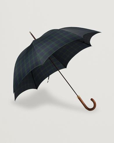 Fox Umbrellas Hardwood Umbrella Blackwatch Tartan