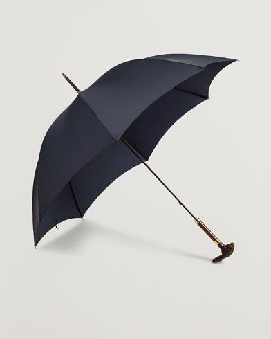 Fox Umbrellas Brown Rabbit Umbrella Navy