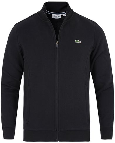 Lacoste Full Zip Sweater Black i gruppen Kläder / Tröjor / Zip-tröjor hos Care of Carl (13172811r)