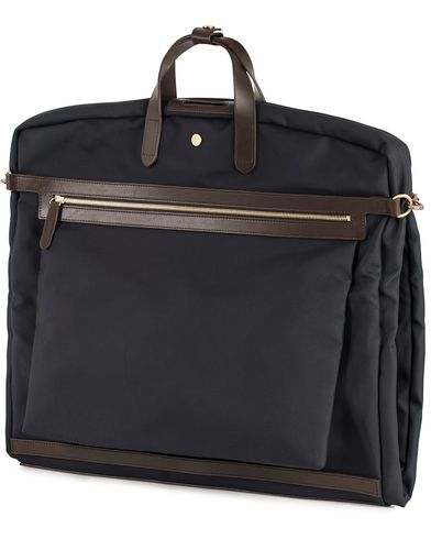 Mismo M/S Suit Carrier Navy/Dark Brown i gruppen Accessoarer / Väskor / Kostymfodral hos Care of Carl (13240810)