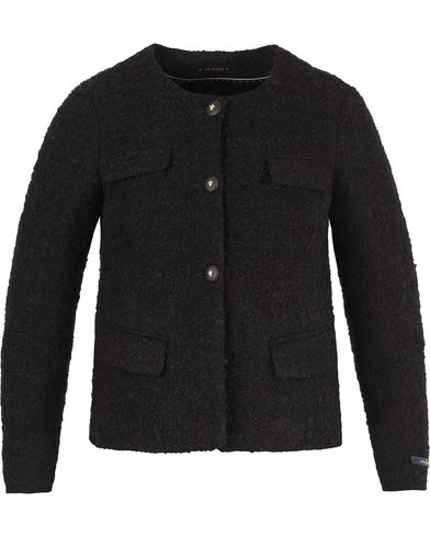 Morris Lady Woman d´Este Bouclé Jacket Black i gruppen Accessoarer hos Care of Carl (13331211r)