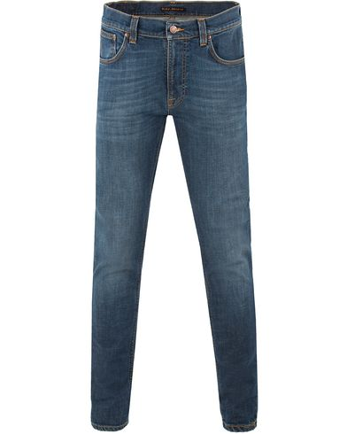 Nudie Jeans Lean Dean Organic Slim Fit Stretch Jeans Mellow O
