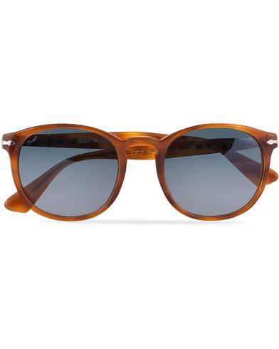 Persol 0PO3157S Round Sunglasses Terra Di Siena