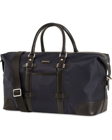 Morris Nylon Weekendbag Navy/Black  i gruppen Accessoarer / Väskor / Weekendbags hos Care of Carl (13536210)