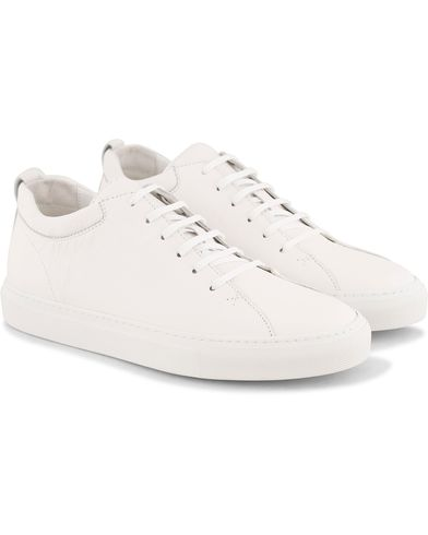 C.QP Tarmac Sneaker All White Leather i gruppen Skor / Sneakers / Höga sneakers hos Care of Carl (13767511r)