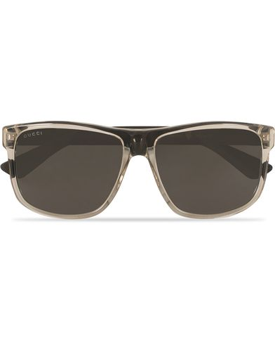 Gucci GG0010S Sunglasses Brown/Grey  i gruppen Accessoarer / Solglasögon / D-formade solglasögon hos Care of Carl (13793410)