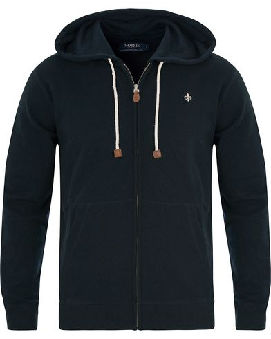 Morris Full Zip Hoodie Old Blue i gruppen Kläder / Tröjor / Huvtröjor hos Care of Carl (13807211r)