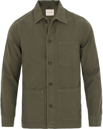A Day's March Overshirt Green i gruppen Kläder / Jackor / Tunna jackor hos Care of Carl (13826011r)
