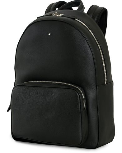 Montblanc Meisterstück Soft Grain Backpack Black  i gruppen Accessoarer / Väskor / Ryggsäckar hos Care of Carl (14007710)