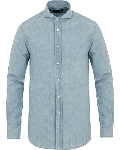 7 denimskjortor för en mer dressad stil |