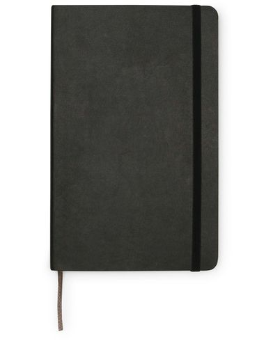 Moleskine Plain Soft Notebook Large Black  i gruppen Accessoarer / Pennor & anteckningsböcker hos Care of Carl (14324310)