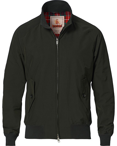 Baracuta G9 Original Harrington Jacket Faded Black i gruppen Kläder / Jackor / Tunna jackor hos Care of Carl (14328011r)
