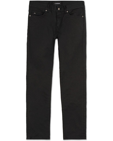 J.Lindeberg Jay Satin Stretch Jeans Black i gruppen Kläder / Jeans / Smala jeans hos Care of Carl (14333311r)