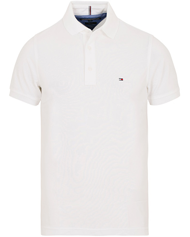 Tommy Hilfiger Slim Fit Polo Bright White