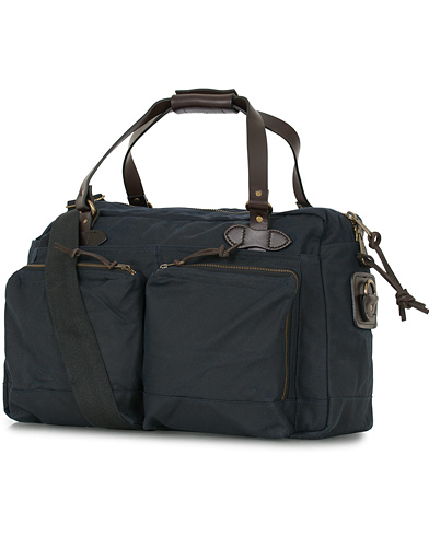 Filson 48-Hours Duffle Bag Navy Canvas  i gruppen Accessoarer / Väskor / Weekendbags hos Care of Carl (14340110)