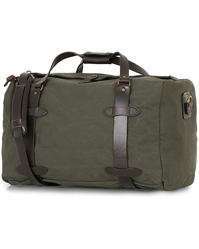 Filson Duffle Medium Otter Green Canvas  i gruppen Accessoarer / Väskor / Weekendbags hos Care of Carl (14340210)
