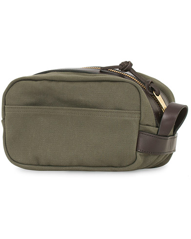 Filson Travel Kit Otter Green Canvas  i gruppen Accessoarer / Väskor / Necessärer hos Care of Carl (14340510)