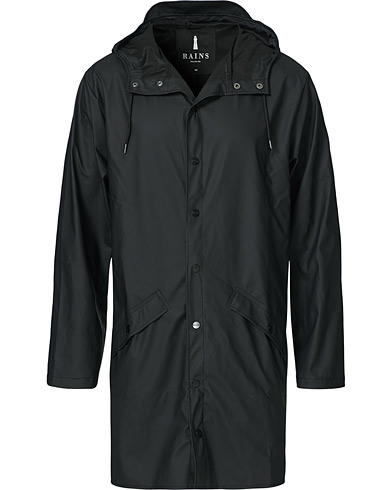 Rains Long Jacket Black i gruppen Kläder / Jackor / Regnjackor hos Care of Carl (14347311r)