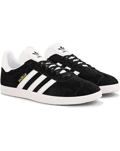 adidas Originals Gazelle Nubuck Sneaker Black i gruppen Skor / Sneakers / Låga sneakers hos Care of Carl (14526911r)