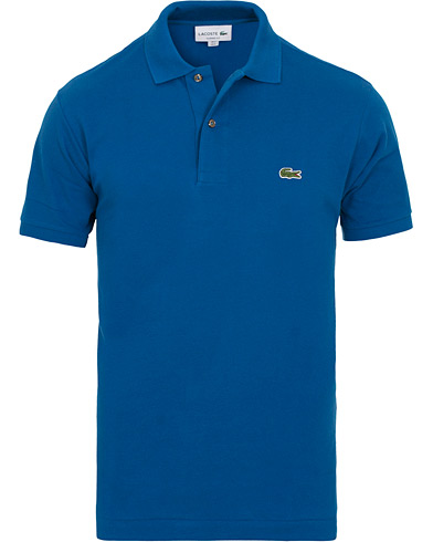 Lacoste Original Polo Electric Blue i gruppen Kläder / Pikéer / Kortärmade pikéer hos Care of Carl (14546611r)