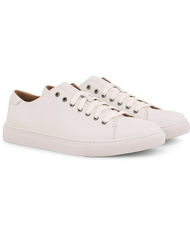 Polo Ralph Lauren Jermain Calf Sneaker White i gruppen Skor / Sneakers / Låga sneakers hos Care of Carl (14554511r)