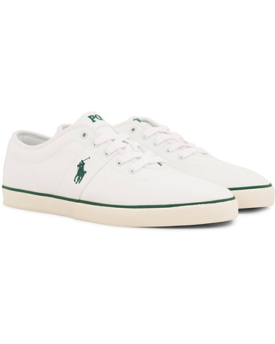 Polo Ralph Lauren Halford Canvas Sneaker White i gruppen Skor / Sneakers / Låga sneakers hos Care of Carl (14554711r)