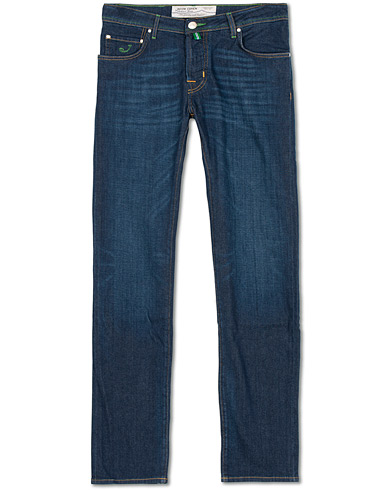 Jacob Cohën 622 Slim Jeans Dark Blue i gruppen Kläder / Jeans / Smala jeans hos Care of Carl (14741511r)