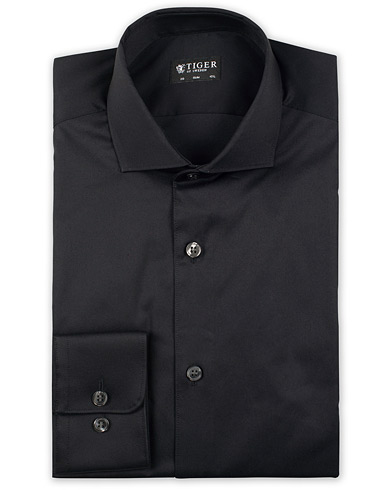 Tiger of Sweden Farell 5 Stretch Shirt Black i gruppen Kläder / Skjortor / Formella / Businesskjortor hos Care of Carl (14793011r)