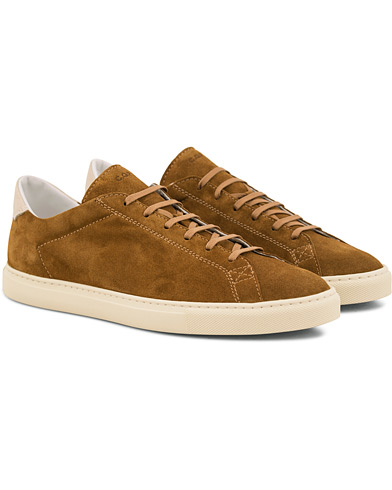 C.QP Racquet Sneaker Honey Brown i gruppen Skor / Sneakers / Låga sneakers hos Care of Carl (14814011r)