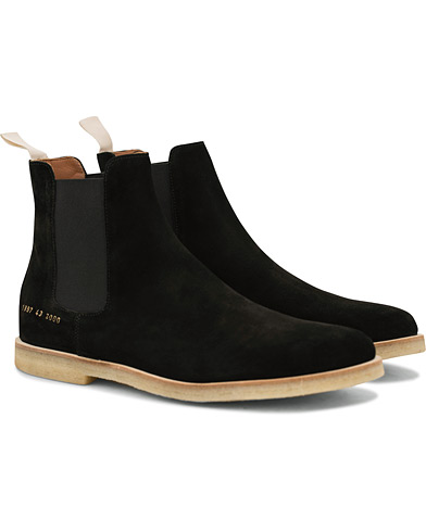 Common Projects Chelsea Boot Black i gruppen Skor / Kängor / Chelsea boots hos Care of Carl (14841211r)