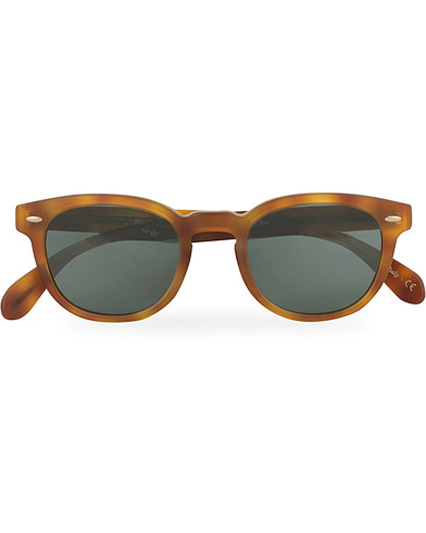 Oliver Peoples Sheldrake Sunglasses Matte Light Brown/Indigo Photochromic