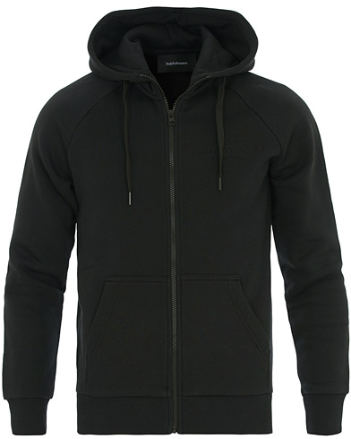 Peak Performance Original Full Zip Hoodie Black i gruppen Kläder / Tröjor / Huvtröjor hos Care of Carl (14866911r)