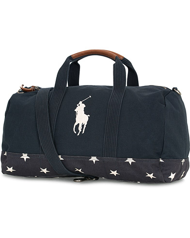 Polo Ralph Lauren Canvas Big Pony Dufflebag Navy  i gruppen Accessoarer / Väskor / Weekendbags hos Care of Carl (14930710)