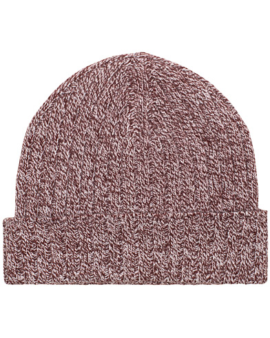 A.P.C Bonnet Jacquot Hat Bordeaux  i gruppen Accessoarer / Mössor hos Care of Carl (14977510)