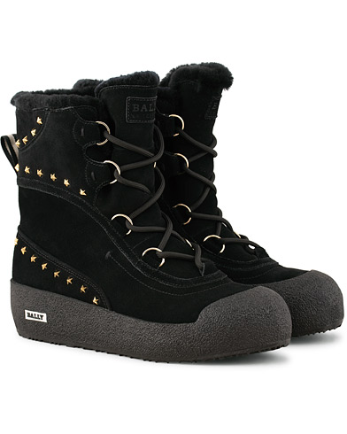 Bally Celinia Laced Winter Boot Black i gruppen Skor / Kängor hos Care of Carl (14988211r)