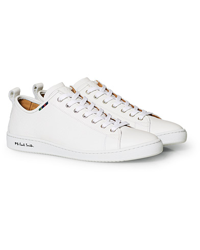 PS Paul Smith Miyata Leather Sneaker White i gruppen Skor / Sneakers / Låga sneakers hos Care of Carl (15019011r)
