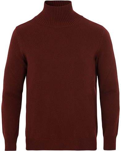 Paul Smith Lambswool Rollneck Burgundy i gruppen Kläder / Tröjor / Polotröjor hos Care of Carl (15025511r)