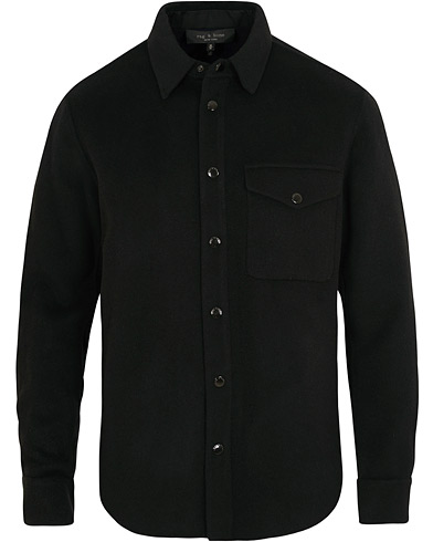 rag & bone Principle Shirt Jacket Black/Navy i gruppen Kläder / Skjortor / Casual / Overshirts hos Care of Carl (15043411r)