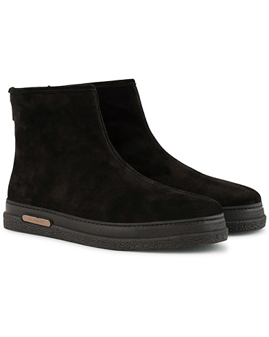GANT Josef Curling Boot Black Suede i gruppen Skor / Kängor / Curlingkängor hos Care of Carl (15105411r)