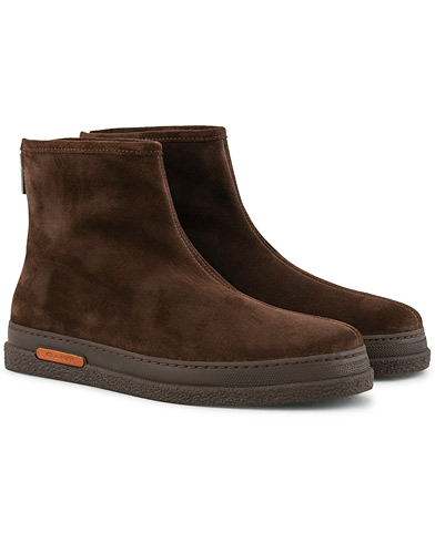 GANT Josef Curling Boot Dark Brown Suede i gruppen Skor / Kängor / Curlingkängor hos Care of Carl (15105511r)