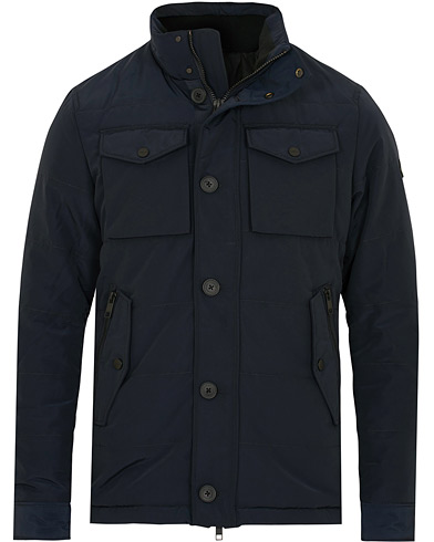 J.Lindeberg Bailey Structured Poly Jacket Navy i gruppen Kläder / Jackor / Field jackets hos Care of Carl (15117111r)
