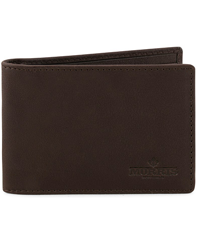 Morris Leather Wallet Dark Brown  i gruppen Accessoarer / Plånböcker / Vanliga plånböcker hos Care of Carl (15124910)