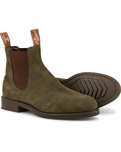 R.M.Williams Gardener G Boot Khaki Suede i gruppen Skor / Kängor / Chelsea boots hos Care of Carl (15141111r)
